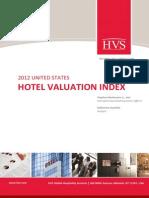 US Hotel Valuation Index
