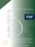 Guia Clinico Laboral Embarazo y Lactancia