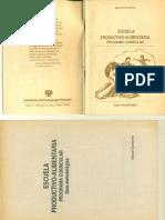 Escuela Productivo-Alimentaria. programa curricular. Guía metodológica. Por Daniel Quineche Meza.