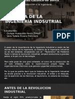 Historia de La Ingeniería Indsutrial