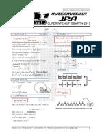 Pembahasan Ps 1 MATEMATIKA IPA Superintensif SBMPTN 2015