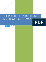 REPORTE DE PRACTICA DE WINDOWS 8