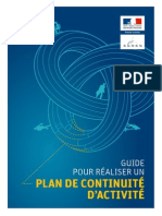 Hfds Guide Pca Plan Continuite Activite Sgdsn