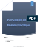 Instruments de La Finance Islamique