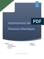 Instruments de La Finance Islamique