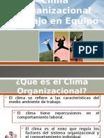 Clima Organizacional y W equipo.pptx