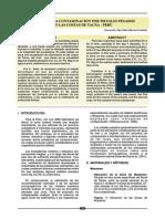 Estudio Por Contaminacion de Metales Pesados en Las Costas de Tacna