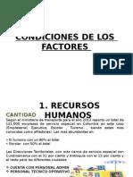 Presentación- [CONDICIONES DE LOS FACTORES - SECTOR DE AFIN Y DE APOYO].pptx