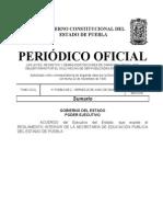 2. Reglamento Interior de La Sep Puebla
