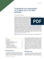 EMC - Técnicas Quirúrgicas - Aparato Digestivo Volume 24 Issue 3 2008 [Doi 10.1016_s1282-9129(08)70142-9] J.-p. Lechaux; D. Lechaux -- Tratamiento Por Laparotomía de La Litiasis de La Vía Biliar