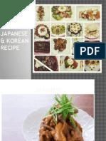 Japanese & Korean Recipe