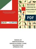 Species Identification Guide (Spanish)
