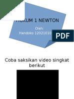 Hukum 1 Newton