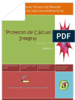 Proyecto de Cálculo Integral