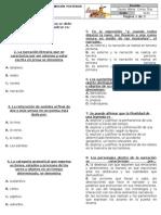 Examen de Admisión - SEXTO