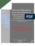 Fibras de Polipropileno Para Reforzamiento de Matrices Cementicias