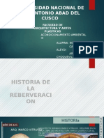HISTORIA DE LA REVERBERACION