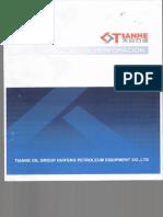Manual Motores Chinos para Taladros de perforación direccional