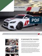 Audi Sport TT Cup Parts Catalogue | Turbocharger | Brake