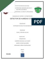 Detector de Humedad Con 555