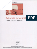 La Toma de La Palabra y Otros Escritos Politicos_Michel de Certau