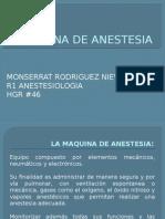 Maquina de Anestesia Monse