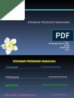 Standar Produksi Makanan - 1
