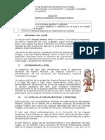 GUÍA N 3. El Español, Una Lengua Híbrida