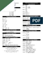 Formulario Matemático Version Enero 2014