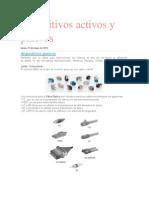 Dispositivos Activos y Pasivos redes de computadoras 6°semestre