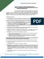 Requisitos Para Constitucion de Iglesias Evangelicas