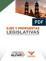 Ejes y Propuestas | Margarita Alfaro