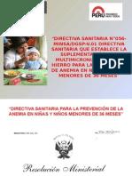Suplemetación Con MMN-Directiva 056 Cenan