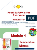 food safety is for every one module four-100610105148-phpapp01