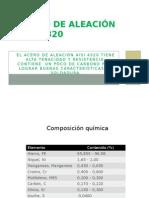 Acero de Aleación AISI 4320