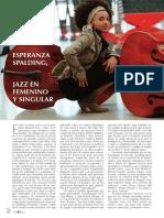 Esperanza Spalding [Jazz en Femenino y Singular]