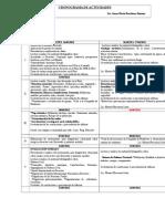 Cronograma Clases 2012