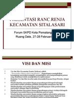Presentasi Ranc.renja Sitalasari