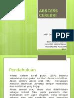 Abscess Cerebri - Presentation