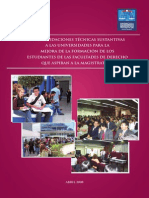Recomendaciones Técnicas Normativas Para Las Universidades