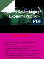 14-Hukum Kelembagaan Ekonomi Publik