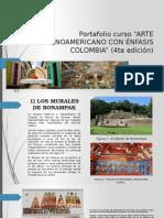 Portafolio Curso Arte Latinoamericano con Énfasis en Colombia.