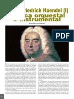 Georg Friedrich Handel [I] Musica Orquestal e Instrumental