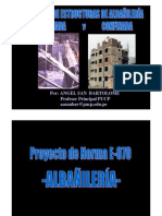 Norma E-070-Diseño a La Rotura Ing Angel Albañileria Confinada y Armada
