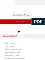 Excel School Program Details