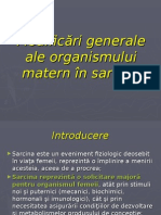CURS 3- Modificari Generale in Sarcina