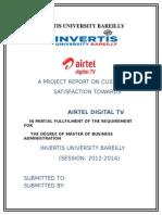 airtel 3g report.doc