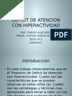 presentacion de tdah (educ 413)