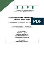 Aplicaciones Electronica de Potencia