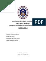 Informe instalación PostgreSQL
